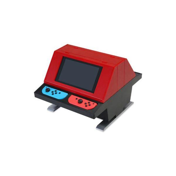 コロンバスサークル Switch用 対面型アーケードスタンド レッド CC-NSTAS-RD