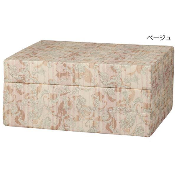 バランス マットレス/寝具 【ダブル 厚さ14cm ベージュ】 140×192cm 日本製 〔ベッドルーム 寝室〕