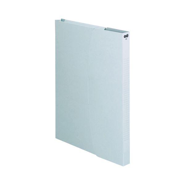 (まとめ) TANOSEE ケースファイル A4タテ230枚収容 背幅23mm ブルー 1セット(12冊:3冊×4パック) 【×10セット】