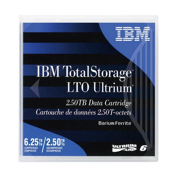 IBM LTO Ultrium6データカートリッジ 2.5TB/6.25TB 00V7590 1セット(5巻)