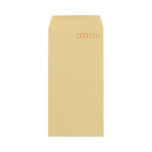 (まとめ)キングコーポレーションクラフト封筒(アドヘヤ付) 長3 70g/m2 〒枠あり 060102 1パック(1000枚)【×3セット】
