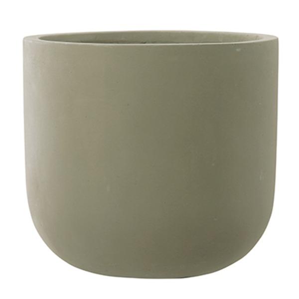 ファイバーセメント製 軽量植木鉢 スタウト Uポット マットセメント 33cm 植木鉢