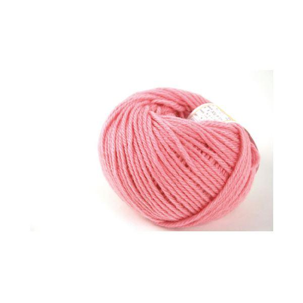 (まとめ)毛糸ままあむ#57 ピンク【×30セット】