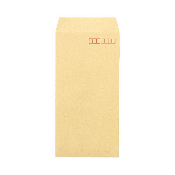 (まとめ) ピース 再生クラフト封筒(厚口タイプ) 長3 100g/m2 〒枠あり 540 1パック(70枚) 【×30セット】