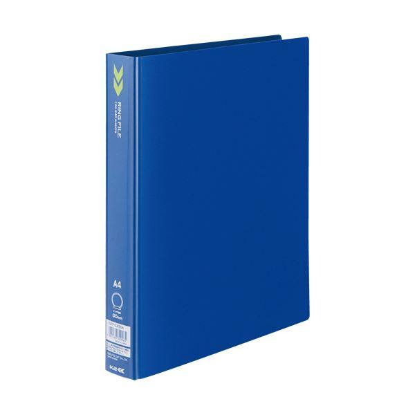 (まとめ) コクヨ リングファイル(K2) A4タテ2穴 240枚収容 背幅39mm 青 K2フ-C430B 1冊 【×30セット】