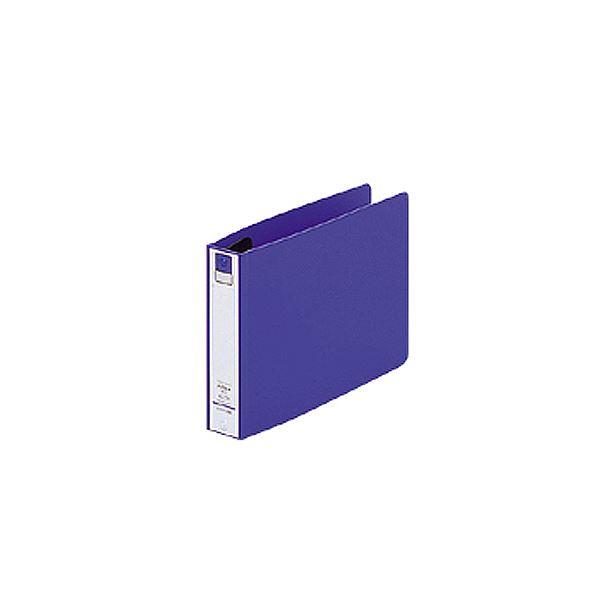 (まとめ) リヒトラブ Avanti リングファイル(カドロック&ツイストリング) B6ヨコ 2穴 200枚収容 背幅36mm 青 F-870U-8 1冊 【×30セット】