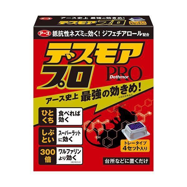 (まとめ) アース製薬 デスモアプロ トレータイプ 1箱(4個) 【×5セット】