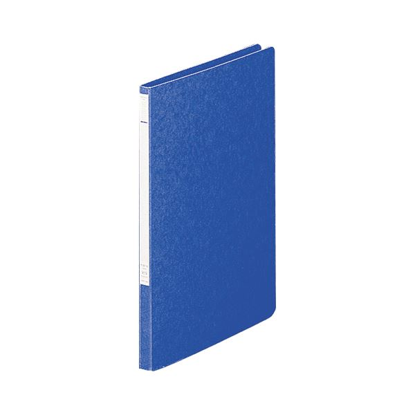 (まとめ) リヒトラブ パンチレスファイルZ式A4タテ 120枚収容 背幅15mm 藍 F-337-5 1セット(10冊) 【×5セット】