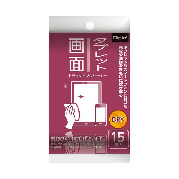 (まとめ) ナカバヤシ ドライクリーナータブレット画面用 携帯サイズ DGCD-K5015 1個(15枚) 【×50セット】