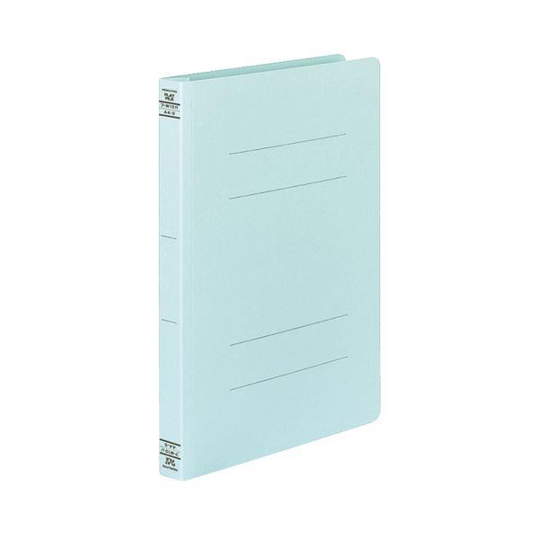 (まとめ) コクヨ フラットファイルW(厚とじ) A4タテ 250枚収容 背幅28mm 青 フ-W10B 1パック(10冊) 【×10セット】