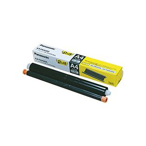 (まとめ) パナソニック普通紙ファクス用インクフィルム A4 30m KX-FAN200 1本 【×10セット】