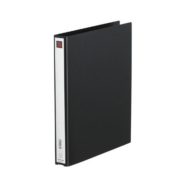 (まとめ) キングジム リングファイル エコノミータイプ A4タテ 2穴 200枚収容 背幅33mm 黒 612 1冊 【×30セット】