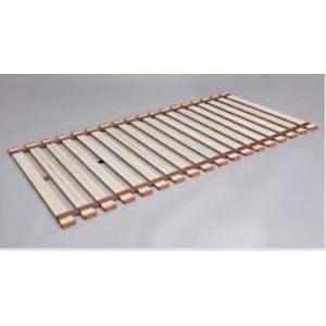 お使いのお布団の下に敷くだけ簡単 お布団内の湿気を軽減してくれるすのこベッド 薄型軽量 桐 すのこベッド 最新 ロール式 セミダブル 高額売筋 代引不可 完成品 折りたたみベッド ベッド カビ対策 木製 湿気対策