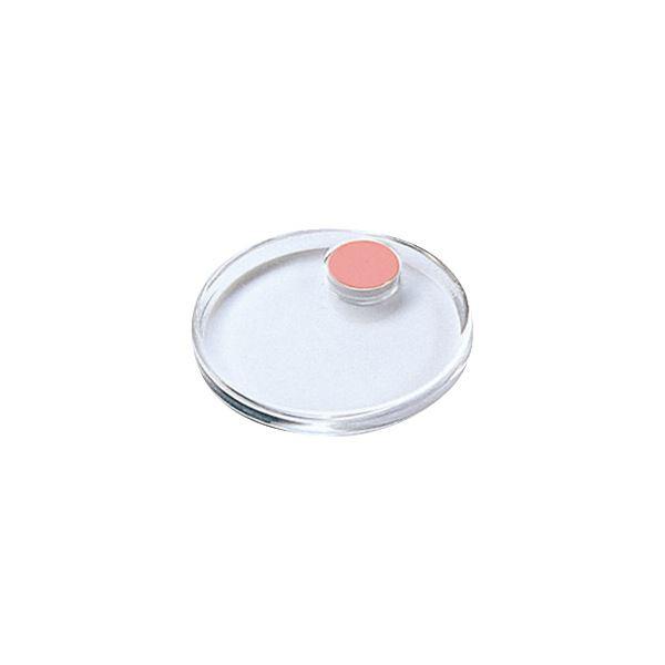 コクヨ 強力カラーマグネット<クリヤー> φ40×6mm ピンク マク-T40NP 1セット(20個:2個×10パック)