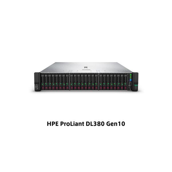DL380 Gen10 Xeon Silver 4208 2.1GHz 1P8C 16GBメモリホットプラグ 8SFF(2.5型) P408i-a/2GB 500W電源 ラックGSモデル P02462-291