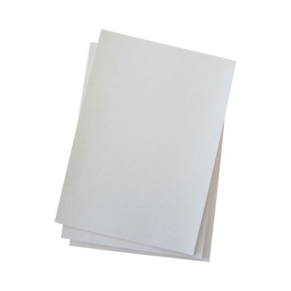 (まとめ)今村紙工 プリンター対応 綴じ込み表紙A4 白 TKH-A4 1パック(50枚)【×10セット】