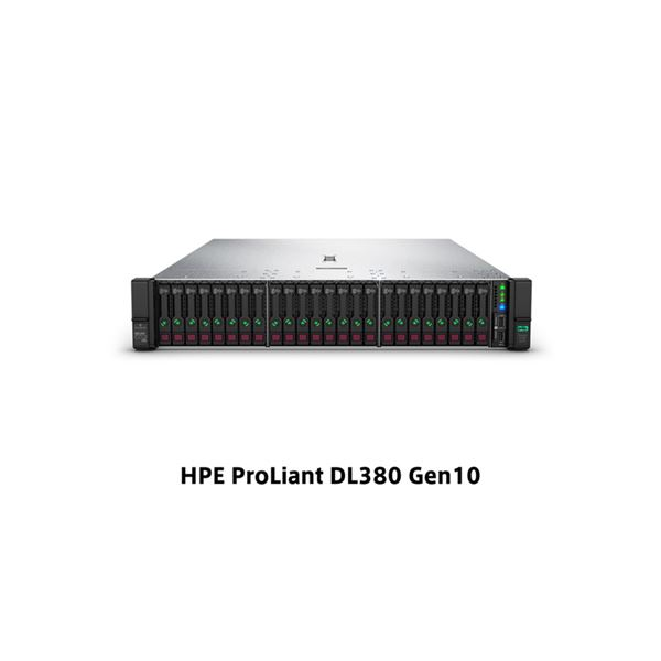 DL380 Gen10 Xeon Silver 4208 2.1GHz 1P8C 32GBメモリホットプラグ 24SFF(2.5型) P408i-a/2GB 800W電源 ラックGSモデル P02467-291
