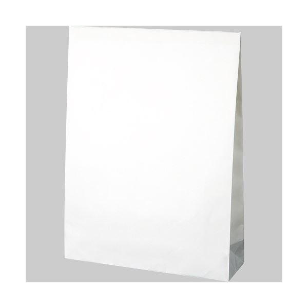 TANOSEE 宅配袋 晒片つや 大 白封かんテープ付 1セット(800枚:100枚×8パック)