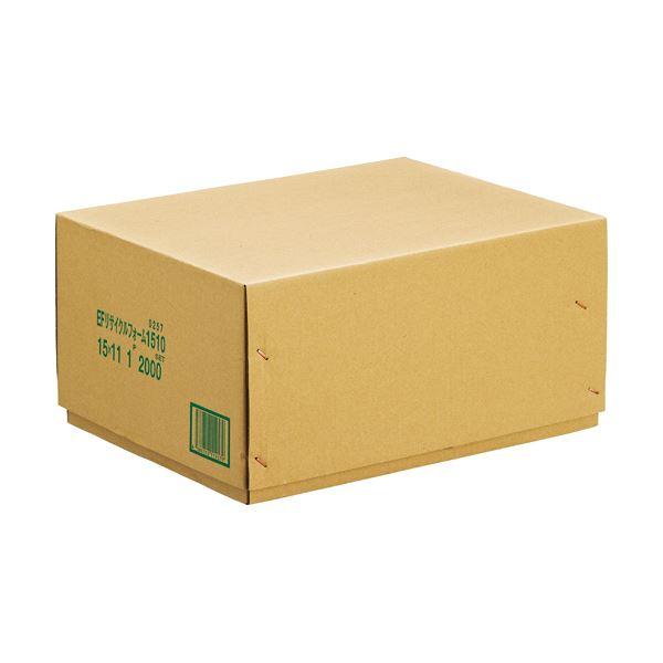 (まとめ) 再生白紙ストックフォーム 15×11インチ 無地 1200257 1箱(2000折) 【×5セット】