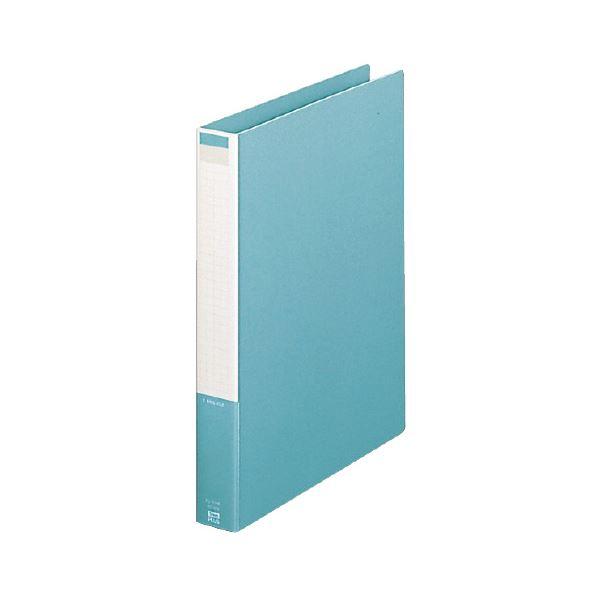 (まとめ) プラス 2リングファイル A4タテ 2穴210枚収容 背幅37mm グリーン FL-101RF 1冊 【×10セット】