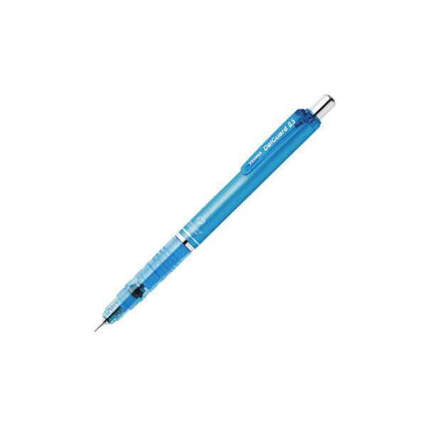 (まとめ) ゼブラ デルガード シャープ 0.5mm ライトブルー 1本入【×50セット】