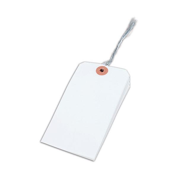 (まとめ) 大明商事 針金荷札 2号 60×120mm HN2-100 1パック(100枚) 【×30セット】