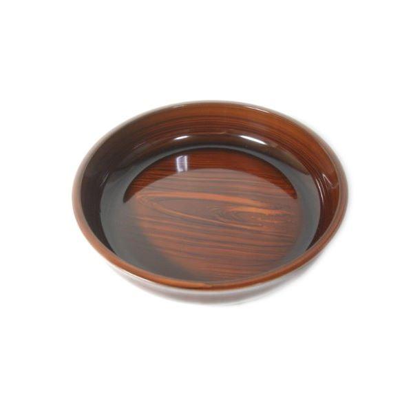 木目が美しい菓子鉢 (まとめ)菓子鉢 木目 (菓子皿 菓子器) 【40個セット】