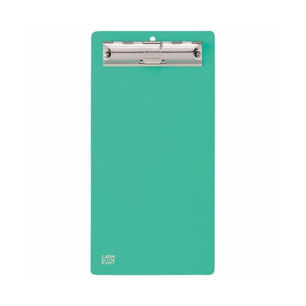 (まとめ)ライオン事務器 PETカラー用箋挟伝票サイズ グリーン No.110K 1枚 【×30セット】
