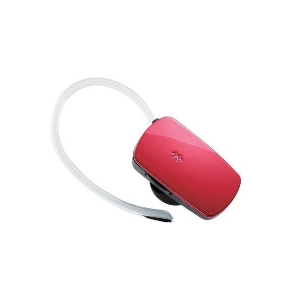(まとめ) ロジテック Bluetooth3.0準拠BT音楽対応 ハンズフリーヘッドセット レッド LBT-MPHS400MRD 1個 【×5セット】