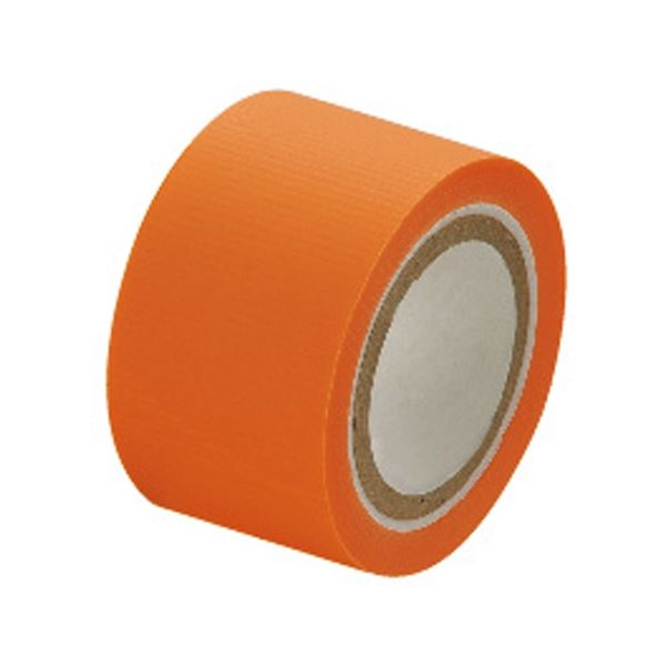 (まとめ)セキスイ スマートカットテープミニ 25mm×4.5m 橙【×50セット】