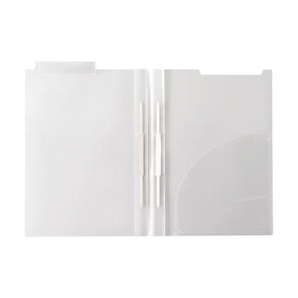 (まとめ)ハピラ カルテホルダーダブルファスナー付 A4 上見出しタイプ KHWF50 1パック(50枚)【×3セット】
