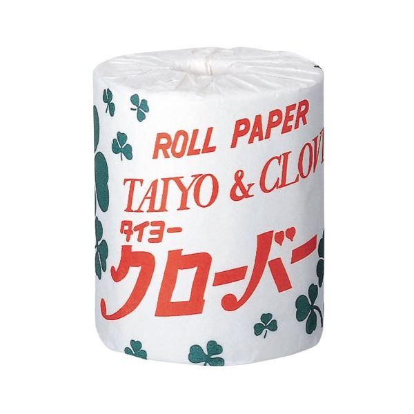 (まとめ) 太洋紙業 トイレットペーパー クローバー 100巻【×3セット】