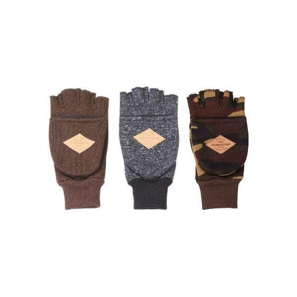 防風フリース フィンガレス手袋 メンズ 3柄アソート 10双セット