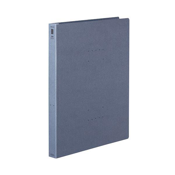 (まとめ) コクヨフラットファイル(NEOS)(厚とじ) A4タテ 250枚収容 背幅28mm ブルーグレー フ-NEW10DM1セット(10冊) 【×10セット】