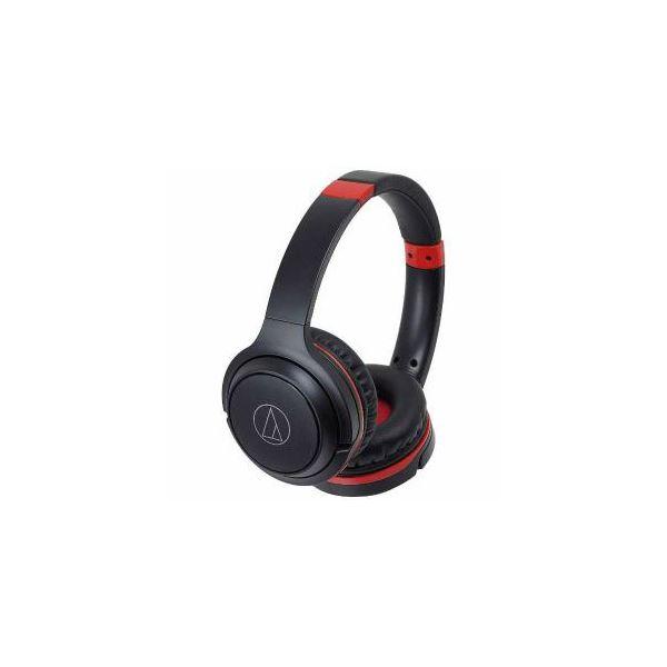 Audio-Technica Bluetooth対応ヘッドセット ブラックレッド ATH-S200BT-BRD