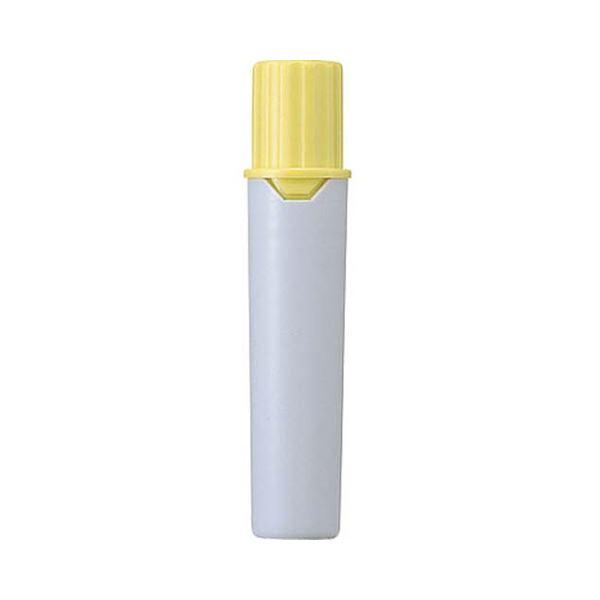 (まとめ) 三菱鉛筆 水性マーカー プロッキー詰替えタイプ用インクカートリッジ 太字角芯+細字丸芯 黄 PMR70.2 1本 【×300セット】
