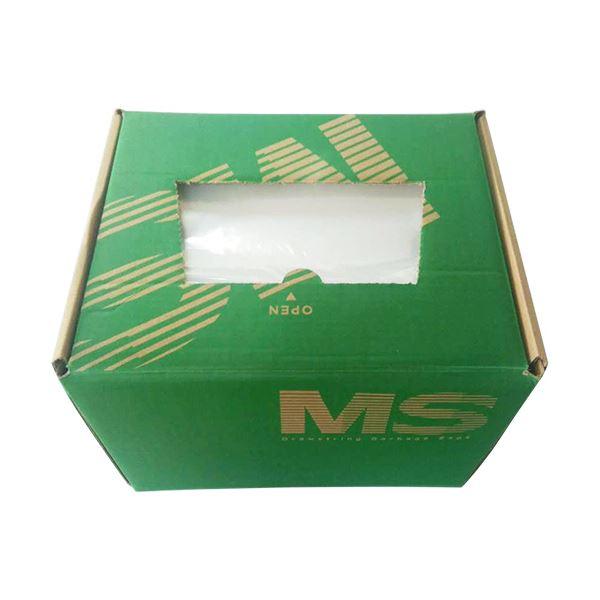 袋が厚くて破けにくい 明光商会 シュレッダー用ゴミ袋MSパック Mサイズ 200枚 ☆最安値に挑戦 店内全品対象 紐付 1箱