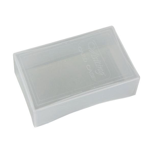 (まとめ)ジャストコーポレーション 名刺PPケース大 100枚収容 クリア JM-1033 1箱(100個)【×3セット】