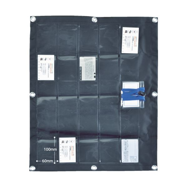 TRUSCO シートポケットカード25枚用 SP-CARD25 1枚 【×10セット】