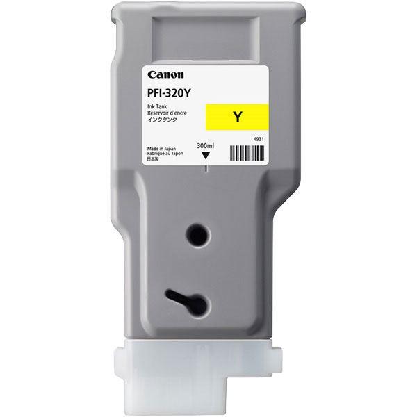 (まとめ)【純正品】CANON 2893C001 PFI-320Y インクタンク イエロー【×5セット】