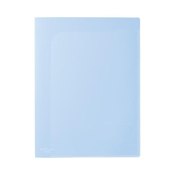 (まとめ)ビュートン スマートホルダー NSH-A4-4CB ブルー【×100セット】