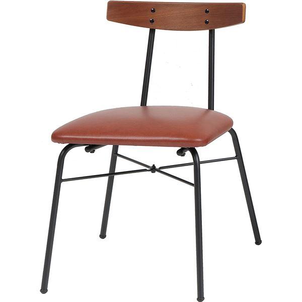 ダイニングチェア anthem Chair(adap) ブラウン 【組立品】【代引不可】