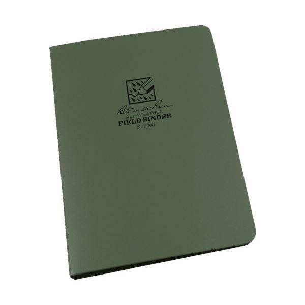 (まとめ) ライトインザレイン リングバインダーキャパシティー グリーン 9200 1個 【×10セット】
