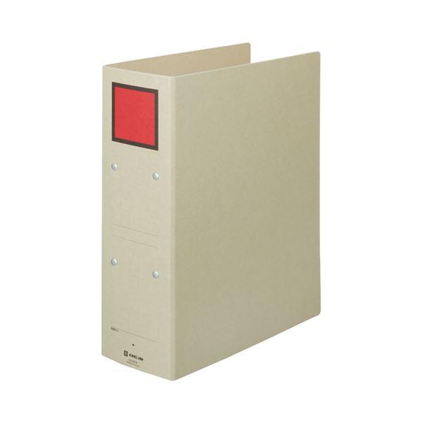 (まとめ) キングジム 保存ファイル A4タテ 800枚収容 背幅94mm ピクト赤 4378 1冊 【×30セット】