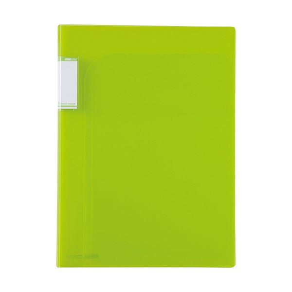 (まとめ)セキセイ アクティフ2PフォルダーA4 ACT-5902 ライトグリーン【×100セット】
