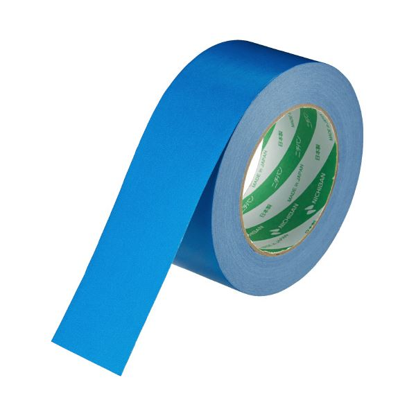 (まとめ)ニチバン ハイクラフトテープ 321WC-50 50mm×50m 青(×50セット)
