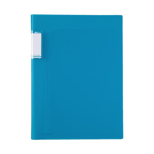 (まとめ)セキセイ アクティフ2PフォルダーA4 ACT-5902 ブルー【×100セット】