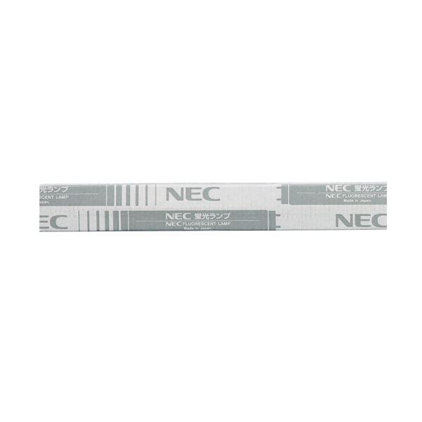 (まとめ)NEC 蛍光ランプ ライフラインII直管グロースタータ形 30W形 昼光色 FL30SD 1セット(25本)【×3セット】