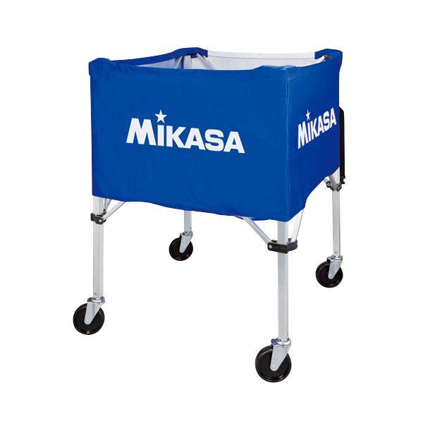 MIKASA(ミカサ)器具 ボールカゴ 屋外用(フレーム・幕体・キャリーケース3点セット) ブルー 【BCSPHL】