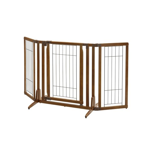 木製おくだけドア付ペットゲートH レギュラー (ペット用品)